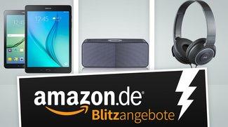 Samsung-Tablets, JVC-Kopfhörer und LG-Lautsprecher in den Amazon-Blitzangeboten