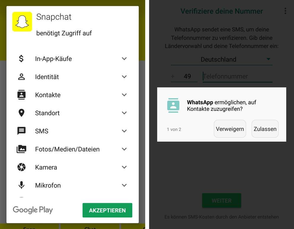 android-app-berechtigungen