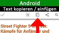 Android: Text kopieren und einfügen – so gehts auf dem Smartphone