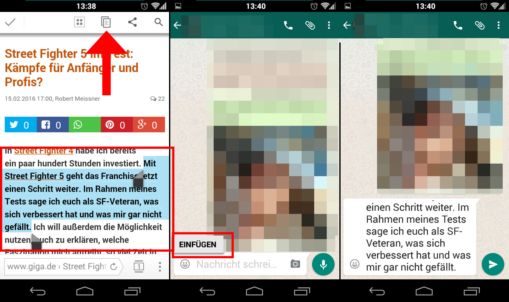 Android Text Kopieren Und Einfügen So Gehts Auf Dem Smartphone