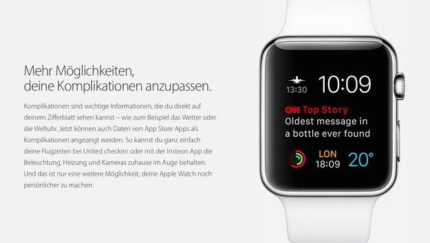 Apple Watch: Entwickler für weitere Ziffernblätter und Komplikationen gesucht