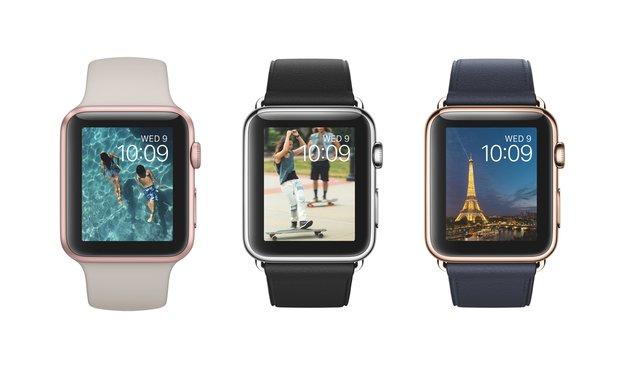 Apple Watch: NATO-Armbänder und schwarzes Milanaise-Armband im März