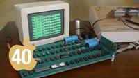 40 Jahre Apple: Prachtexemplar des Apple I lädt Software vom iPod (Video)