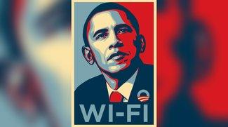 Barack Obama beklagt mieses WLAN im Weißen Haus