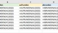 Excel: Alle Formeln anzeigen – so geht's