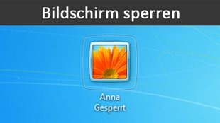 Bildschirm sperren (Windows, Mac OS X, iPhone & Android)