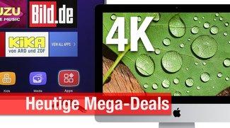 CyberSale & Blitzangebote: 4K-iMac für nur 1.449 Euro! + 4K-TVs, USB-3.0-Hubs, Festplatten u.v.m. billiger zum Bestpreis