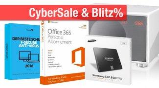 CyberSale & Blitzangebote: Office 365 + F-Secure nur 29,90 Euro! + Samsung-SSDs, Geneva-Soundsystem u.v.m. günstiger