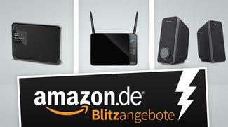 1 TB externe Festplatte, LTE Home-Router und USB-Lautsprecher stark vergünstigt bei Amazon