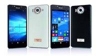 Lumia 950 inkl. Luxus-Cover aus Leder, Gold & Diamanten für 1.950€