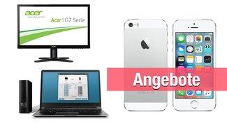 iPhone 5s, 2-Terabyte-Festplatte, 27-Zoll-Monitor u.v.m. heute günstiger