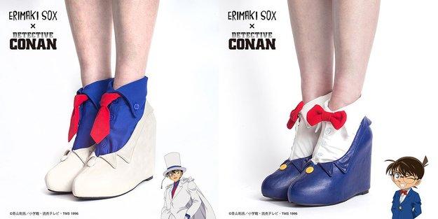 Diese Anime-Fußbekleidung ist ein Muss für alle Detektiv Conan-Fans