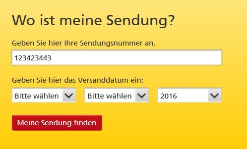 Deutsche Post Briefverfolgung Online Tracking Für Briefe Giga