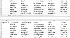 Excel: Tabellen vergleichen & Unterschiede hervorheben – so geht's