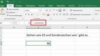 Excel: Zeichen & Wörter zählen – so geht's