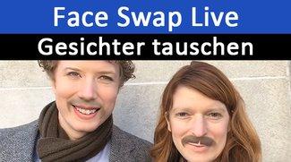 Face Swap Live: So tauscht ihr Gesichter und macht Videos