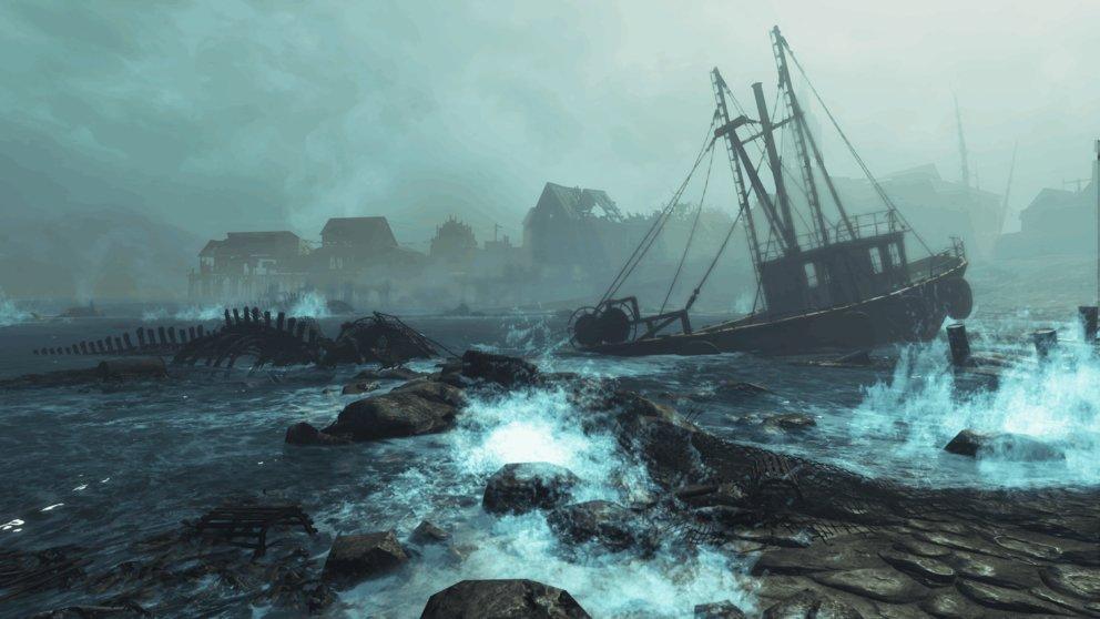"""""""Far Harbor"""" ist der erste DLC, bei dem ihr ein neues Gebiet erkunden dürft."""