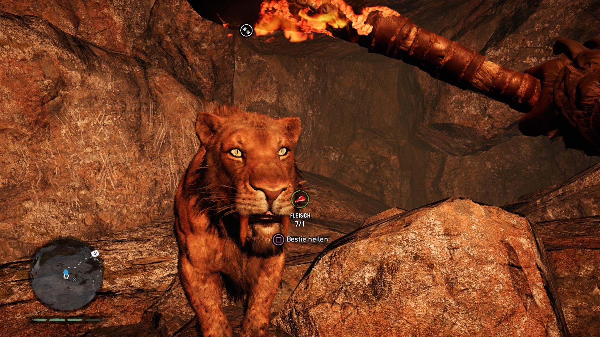 Far Cry Primal: Bestien und Tiere finden - Fundorte mit