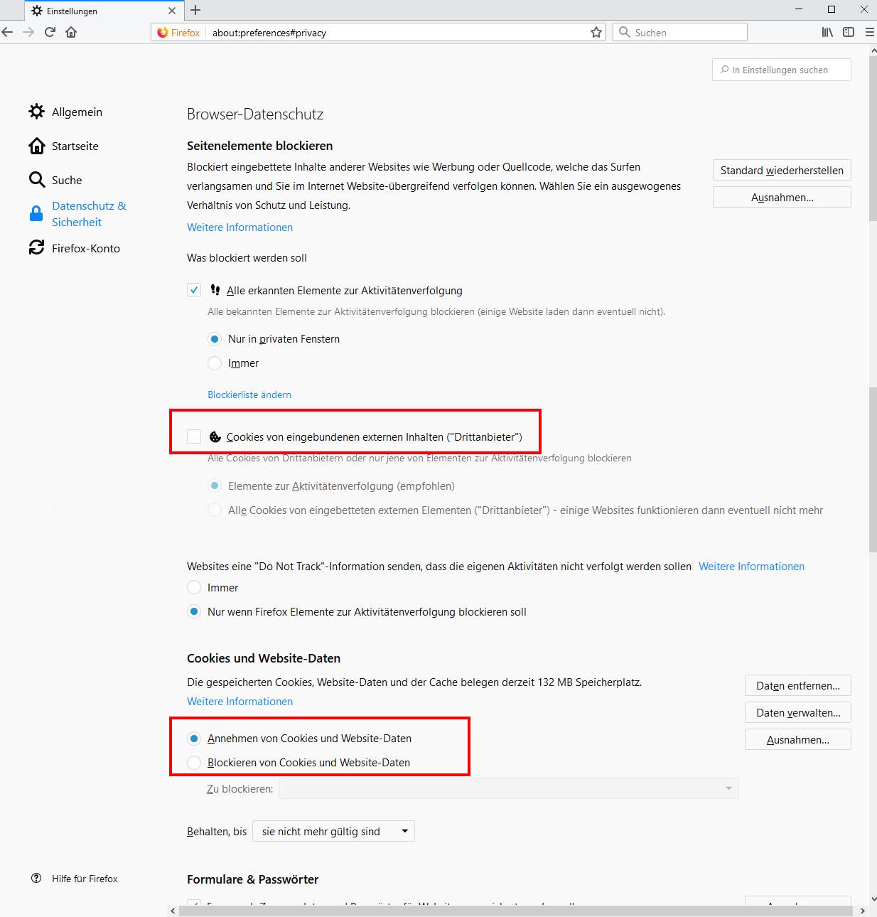 Cookies Im Browser Aktivieren Firefox