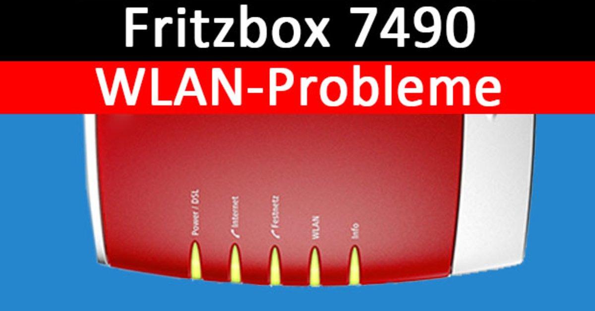 Fritzbox 7490 Wlan Probleme Ursache Losung Fur