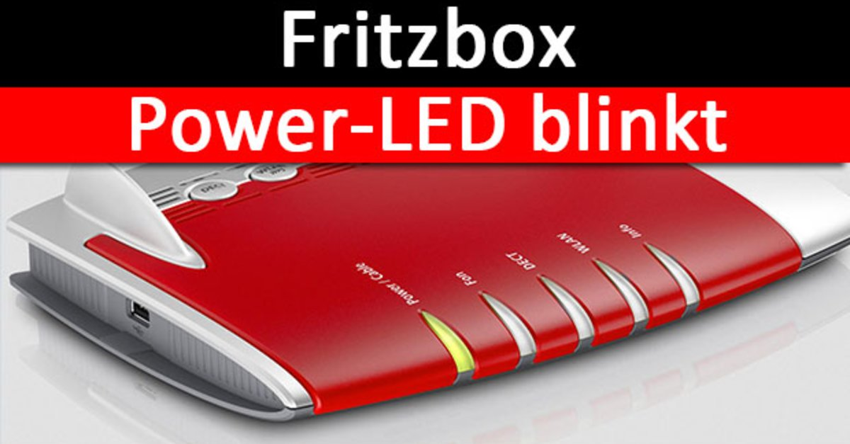 Fritz Box 7330 Power Dsl Blinkt