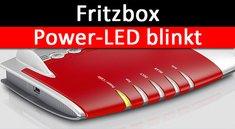 Fritzbox: Power oder Info blinkt – Ursache und Lösung