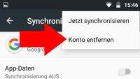 Google-Konto vom Handy löschen (auch bei anderem Vorbesitzer) – so geht's