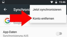 Google-Konto vom Android-Handy löschen – so geht's