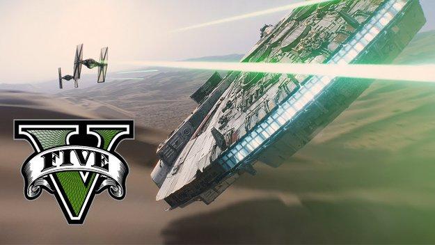 Star Wars 7: Berühmte Szene aus Das Erwachen der Macht in GTA 5 nachgestellt