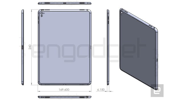 iPad Air 3: Smart Connector nun auch in technischer Zeichnung zu sehen