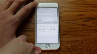 Datum umstellen auf den 1.1.1970 verwandelt iOS-Geräte in teuren Türstopper [Video]