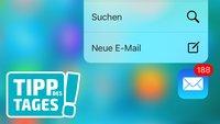 iPhone-Tipp: Mit 3D-Touch schnell eine neue Nachricht schreiben (Quick Actions)