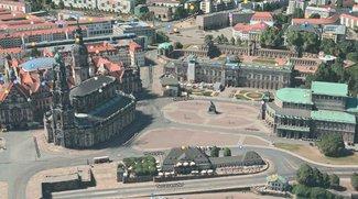 Apple Maps: Flyover mit 20 neuen Städte, darunter Dresden, Bremen, Bern und Salzburg