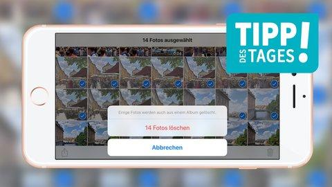 Bilder Vom Iphone Loschen So Gehts Schnell Und Einfach