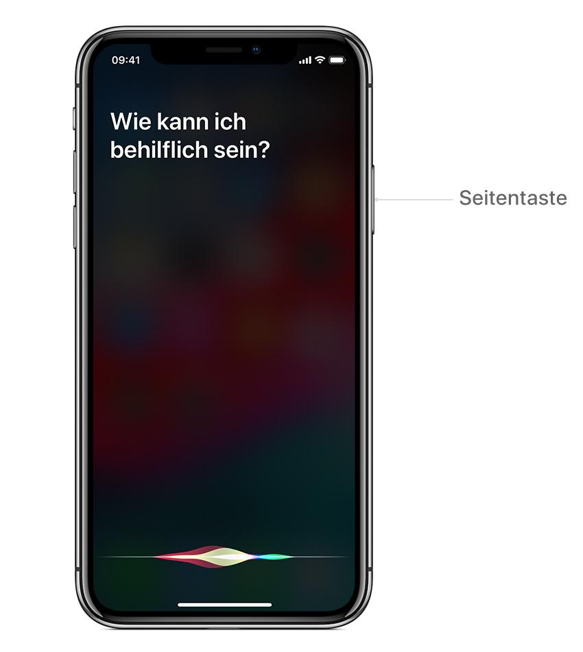 Siri Aktivieren