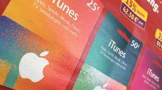 iTunes-Karten mit Rabatt im Juli 2016: 20 Prozent Bonusguthaben