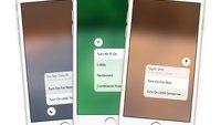 Wunsch für iOS 10: Designer zeigt erweitertes Kontrollzentrum