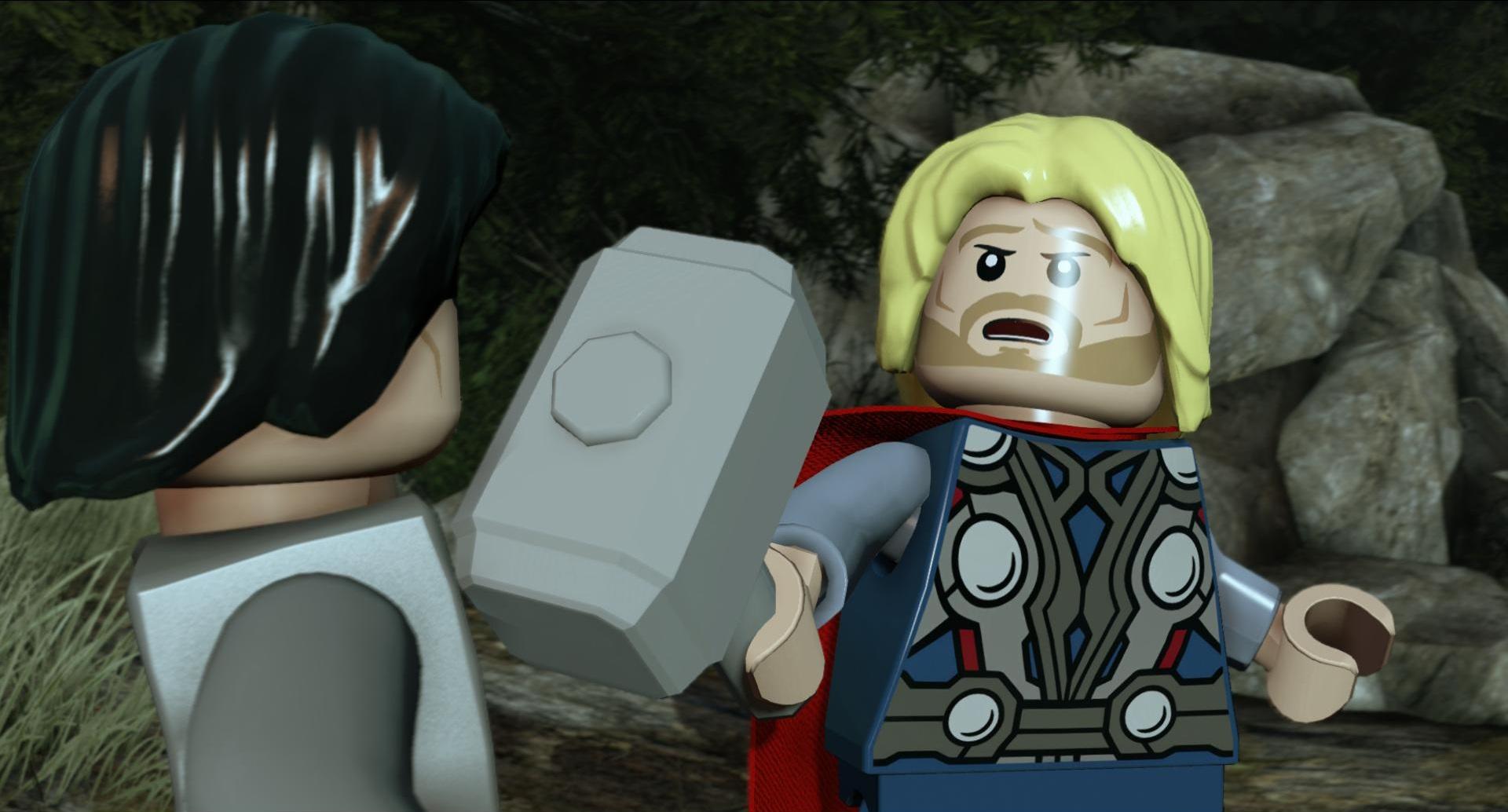 Lego Marvel Avengers Rote Steine
