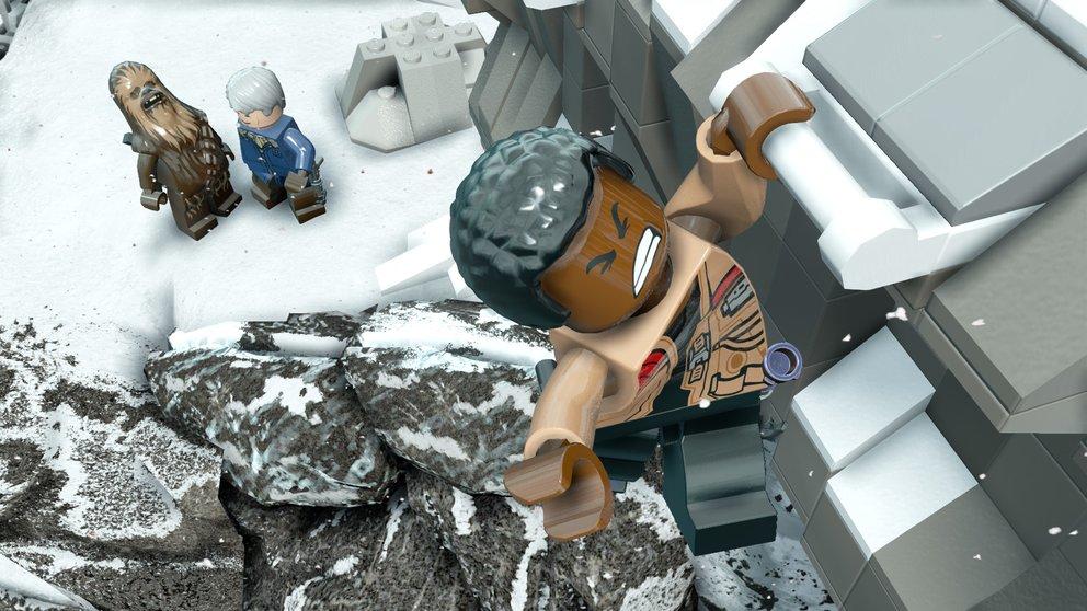 LEGO Star Wars - Das Erwachen der Macht: Finn gerät von einem Fettnäpfchen ins Nächste.