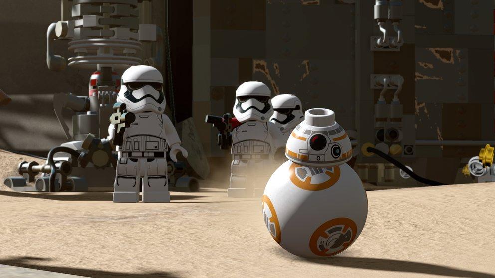 LEGO Star Wars - Das Erwachen der Macht: BB-8 dürft ihr erstmals selber steuern.