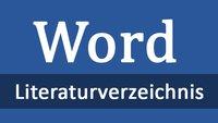 Literaturverzeichnis in Word erstellen: so geht's