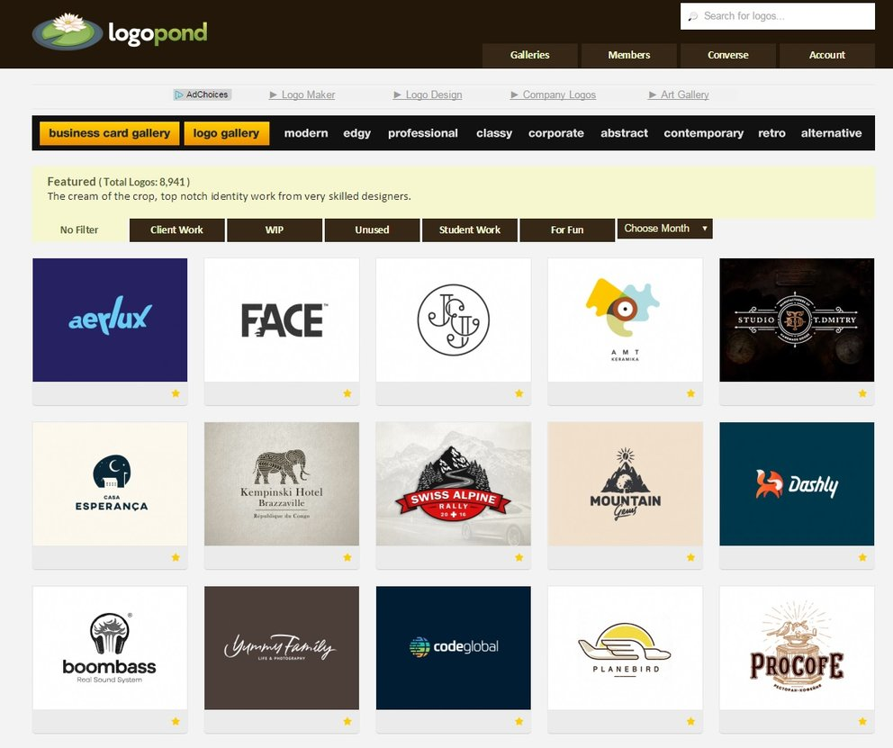 logopond Screenshot der Gallerie