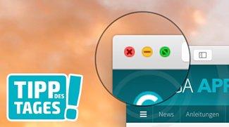Mac-Tipp: Maximale Fenstergröße statt Vollbildmodus