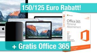 MacBooks (auch neue Modelle), iMacs, Mac Pros nur bis 12.06. mit Sofortrabatten und Beigaben: Bis zu 293 Euro sparen!