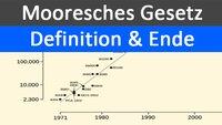 Mooresches Gesetz: Defintion und Ende von Moore's Law – Einfach erklärt