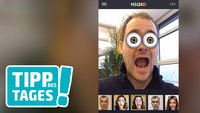 App-Tipp MSQRD: Unsinnige Masken für (Video-)Selfies
