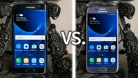 Samsung Galaxy S7 vs. Galaxy S7 edge: Video-Vergleich der High-End-Smartphones
