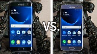 Samsung Galaxy S7 vs. Galaxy S7 edge: Video-Vergleich der High-End-Smartphones
