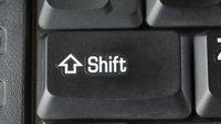 Shift- und Umschalt-Taste: Hier findet ihr sie auf der Tastatur
