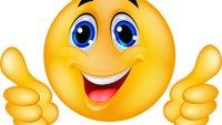 Danke-Smiley, Emoji und Emoticon: So bedankt ihr euch in WhatsApp und Co.